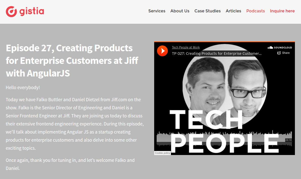 Tech People Podcast