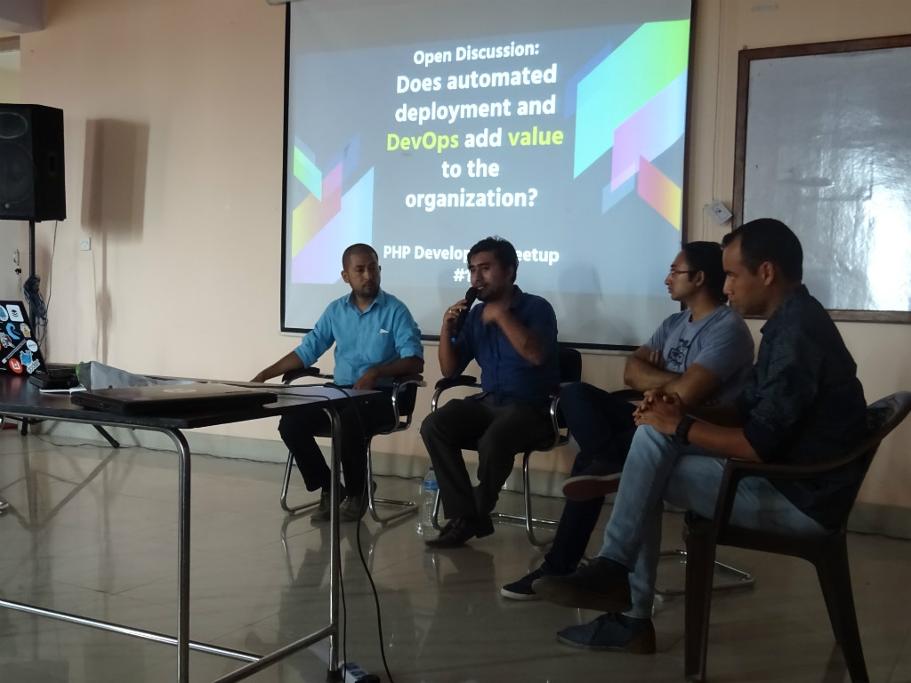 PHP Dev Meetup 16 Open Panel discussion on DevOps