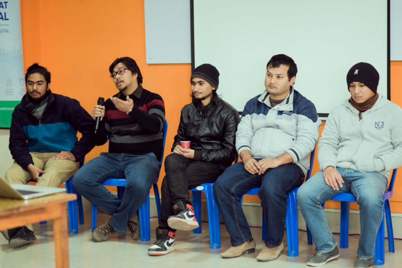 Open discussion panelists at DN Meetup 4